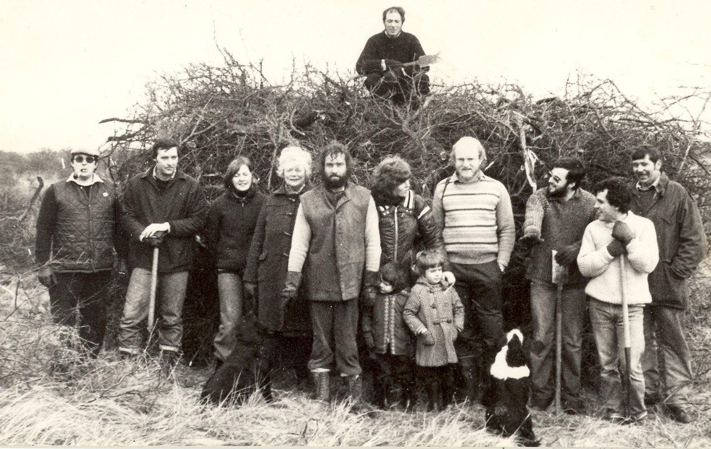 Saltfleetby NNR Volunteers - Photo by Tom Clifford