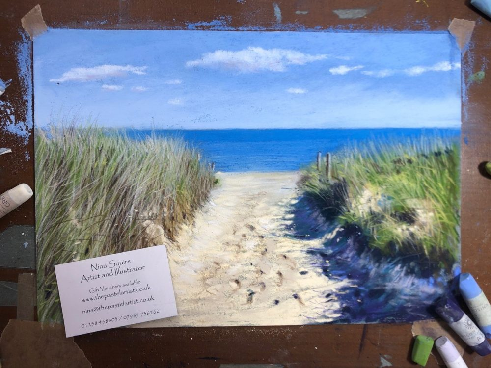 Painting dunes: art inspired by Studland