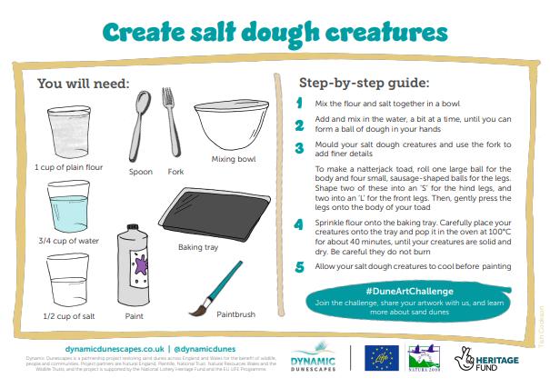 salt dough activity pack