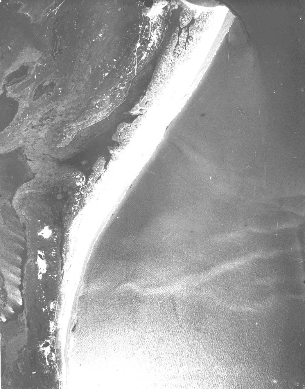 aerial photograph of studland bay from 1928