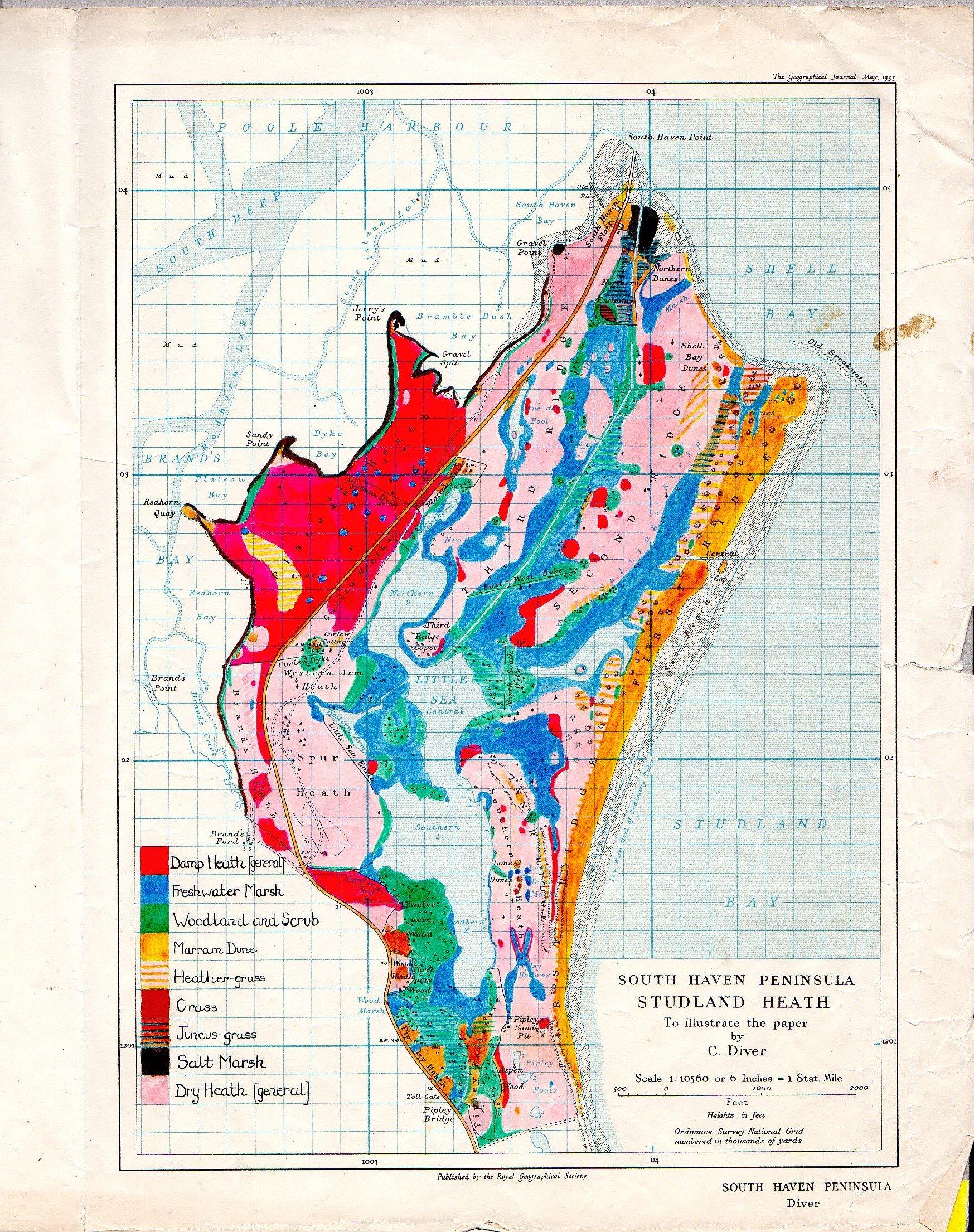 Habitat distribution
